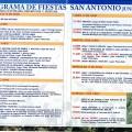 Programa de Fiestas San Antonio 2017
