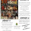 Feria Medieval en La Cabrera (18,19 y 20 de Agosto) - Vídeo y Álbum Fotográfico