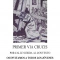 Celebración del Vía Crucis en La Cabrera
