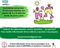 Servicios Mancomunidad de Servicios Sociales Sierra Norte Madrid - COVID-19