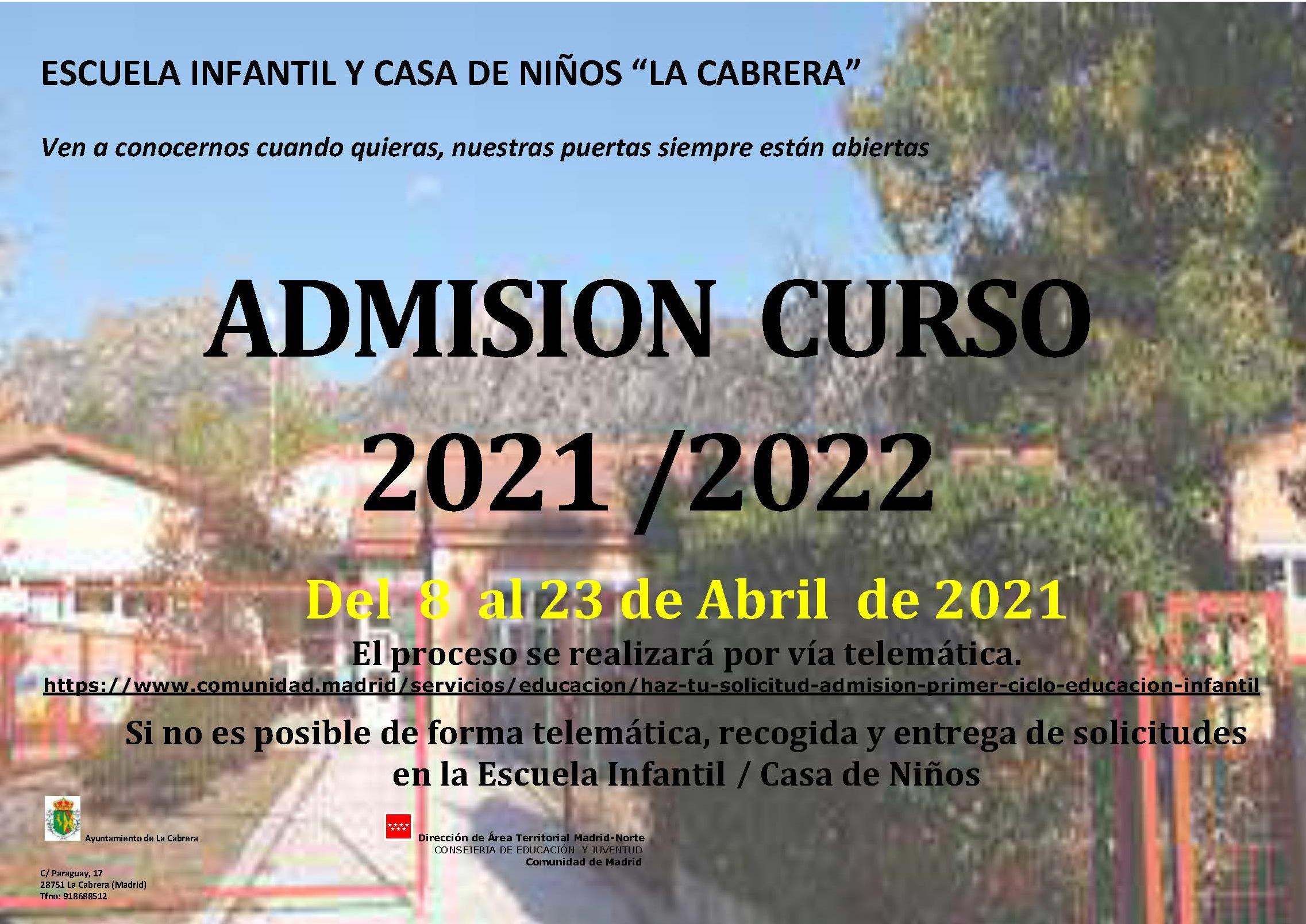 AnuncioAdmisiónEI_2021-2022