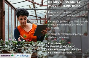 FORMACIÓN ILUMINACIÓN DIGITAL PARA EL MEDIO RURAL I
