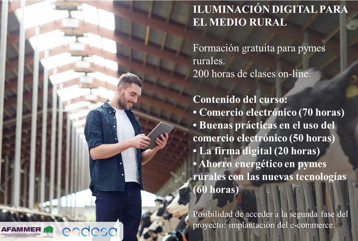 FORMACIÓN ILUMINACIÓN DIGITAL PARA EL MEDIO RURAL