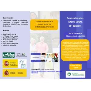 Curso ON-LINE sobre Salud Local (6ª Edición) Ministerio de Sanidad