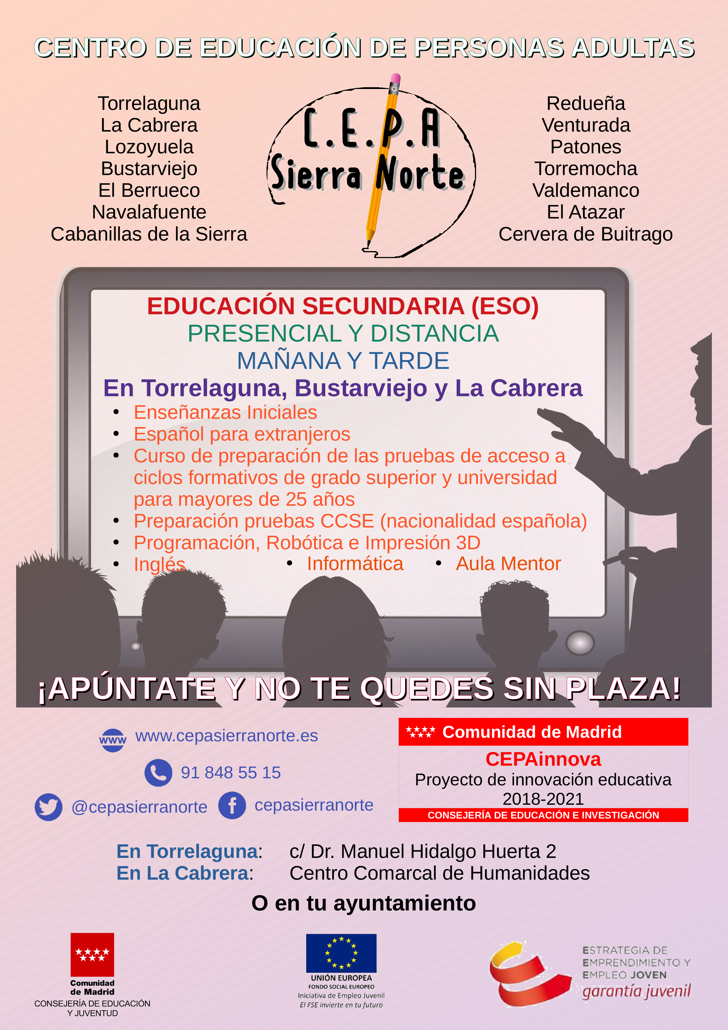 CEPA Sierra Norte 2021
