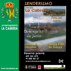 Nueva ruta Senderismo desde La Cabrera-Domingo 20 junio