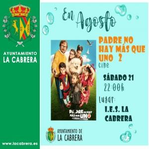 Programa Verano Cultural 2021, La Cabrera. Reserva asiento en el 699301079.